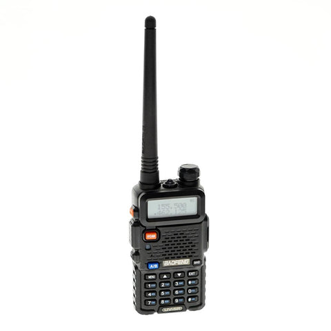"Baofeng Portable Two Way Radio Dual Band Walkie Talkies UV-5R 1.5"" LCD 5W 136~174MHz / 400~480MHz - edragonmall.com"