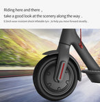 CRONY  Electric Scooter M365, Aluminium Alloy Folded, 8.5 Inch tires | White
