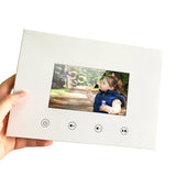 K3050 5inch Screen Brochure Universal Video Greeting Cards Photo Frame