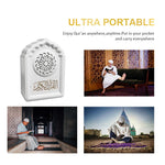 QB-818 Wireless Blue tooth Speaker Portable mosque shaped Quran speaker