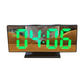 Digital LED Alarm USB Clock Shows Date And Temperature Clock DS-3618L