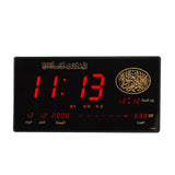 CRONY 4622y AZAN Clock indoor custom made memory decoration remote control alarm clock LED clock