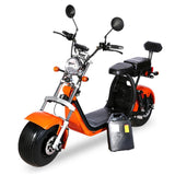 CRONY G-028 Harley tyre Double Seat with double battery Rugged | RED spider