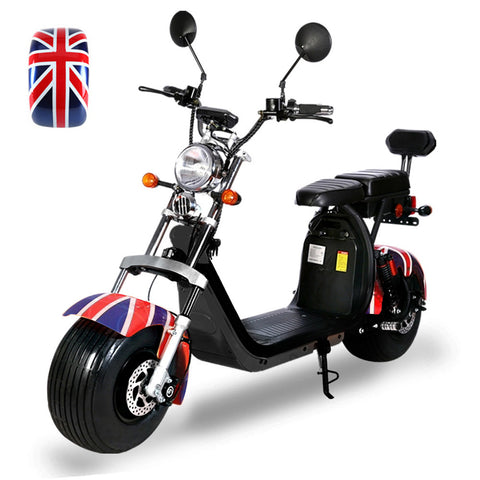 CRONY G-029 Electric Motorcycle Motorbike High Speed Harley tyre Double Seat with double battery | Banner