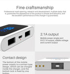 CRONY YC-008 USB Charger  Dual Port Power Bank QC 3.0 Quick Charger Wireless charger Portable Adapter Power Hub for Mobile phone Tablet PC