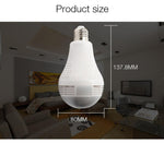 B13-l-v2 960p Wireless Panoramic Ip 3d Vr Camera Wifi Bulb Light Fisheye Surveillance - Edragonmall.com
