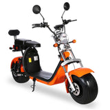 G-029 High Speed Harley tyre Double Seat with double battery 60V 3000W 80km/h | Orange
