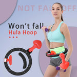 Smart Hula Hoop Auto-Spinning Hip Hula Hoop Exercise Lose Weight Detachable Sports Circle