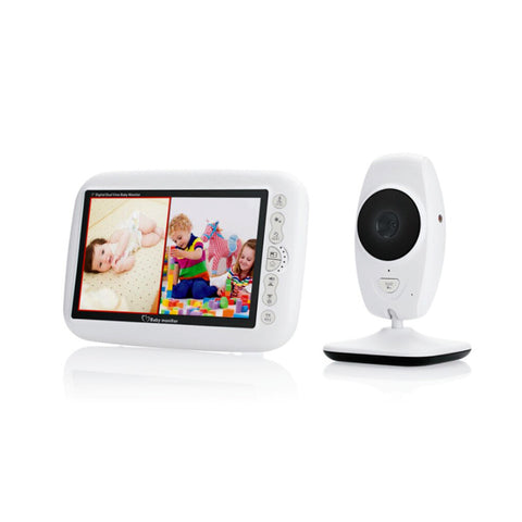 7inch TFT LCD Baby Monitor Infrared Night Vision IR LED Temperature Detection Two Way Talk Baby Camera