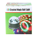 Crony Lb-180 Led Crystral Magic Ball Light Stage Light For Party And Stage Show Colorful Light - edragonmall.com