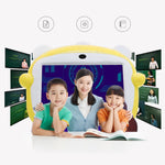 Jettom baby learn machine 7-inch 8GB ROM 512MB RAM 2G IPS LCD Dual Camera Kids Tablet YELLOW