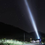 CRONY 6LED glare flashlight 22000 lumen 5000M rechargeable LED searchlight