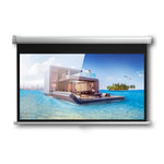Crony Projection Wall  Screen 100 Inch 4:3 Anti-Light With  projector screen by manual Screen