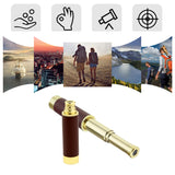 25X30 Single Pirate Telescope Retro Pirate Telescopic Mini Monocular Optics Telescope
