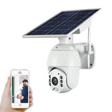 RBX-S10 Low power 4G solar camera 1080P HD Solar Panel Outdoor Surveillance Waterproof CCTV Camera Smart Home Two-way Voice Intrusion Alarm