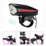 CRONY Accessories Scooter lamp + horn Bicycle e-Scooter LED Head Light Super Horn Electronic Bell Lamp Water Resistant