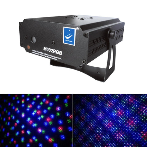 Big Dipper M002RGB mini laser stage lighting disco lamp