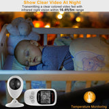 2.4inch TFT LCD Baby Monitor Wireless Video Baby Monitor Camera