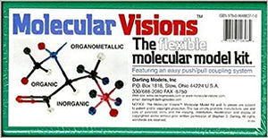 Molecular Visions (Organic, Inorganic, Organometallic) Molecular Model Kit #1 by Darling Models to accompany Organic Chemistry