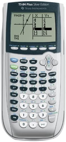 TI-84 Plus Silver Calculator (Used)