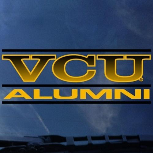 VCU Alumni Shock Decal