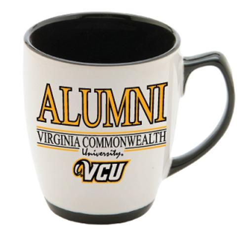 VCU Alumni 13Oz Gold/White Mug
