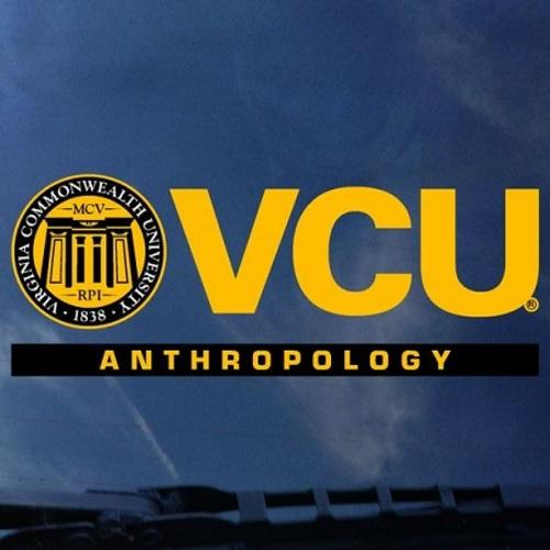 VCU Anthropology Decal
