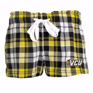 VCU Reign Ladies' Flannel Shorts