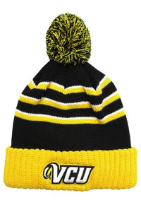 VCU Black/Gold/White Beanie