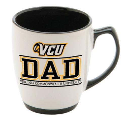 VCU Dad 13Oz Gold/White Mug