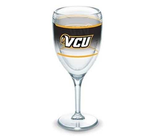 VCU Tervis Wine Glass