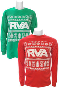 RVA Holiday Sweater Long Sleeve T-shirt