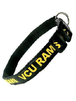 VCU Rams Dog Collar