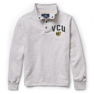VCU Rams Gray Grey quarter snap up pullover