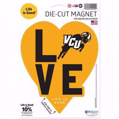 Life Is Good VCU Magnet