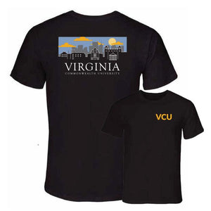 VCU Uscape Black Cloudy T-shirt