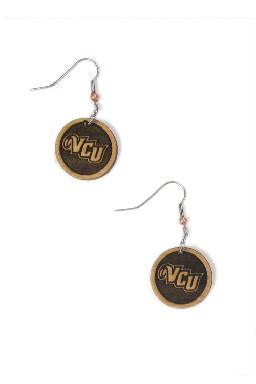 VCU Woodcut Earrings