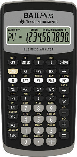 BA-II Plus Calculator (Used)