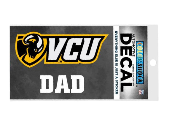 VCU Dad Shield Decal