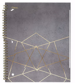 Mead 1 Subject Modern Chic Notebook