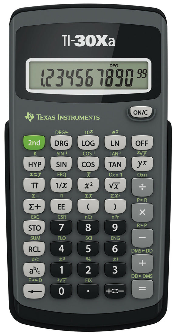 TI 30XA Solar School Edition Calculator