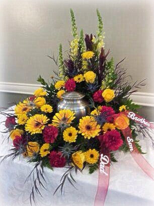 Urn Wreath Surround