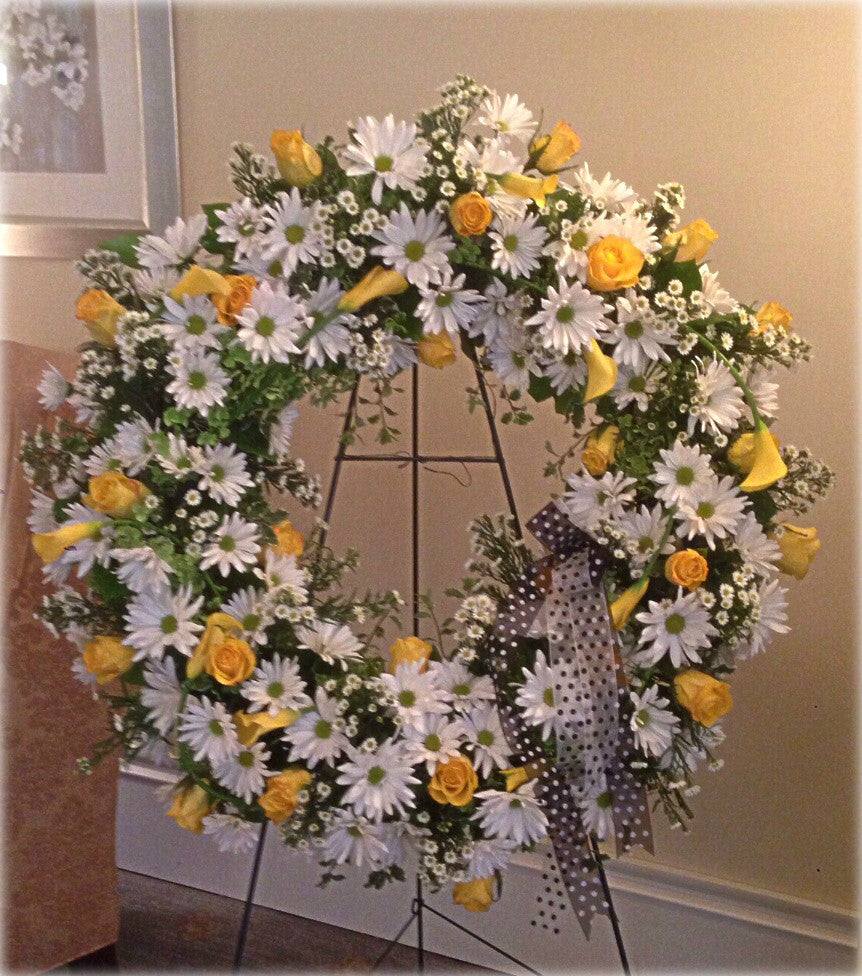 Daisy a Day Wreath