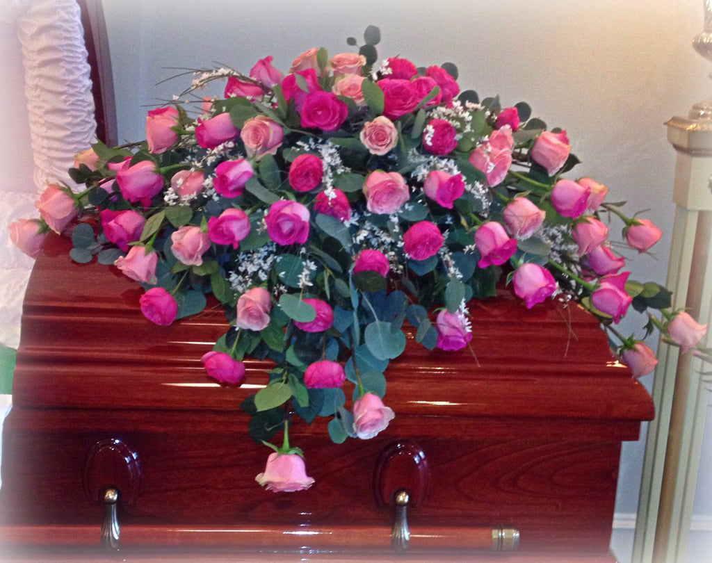 Roses for your Casket Spray - Any Color