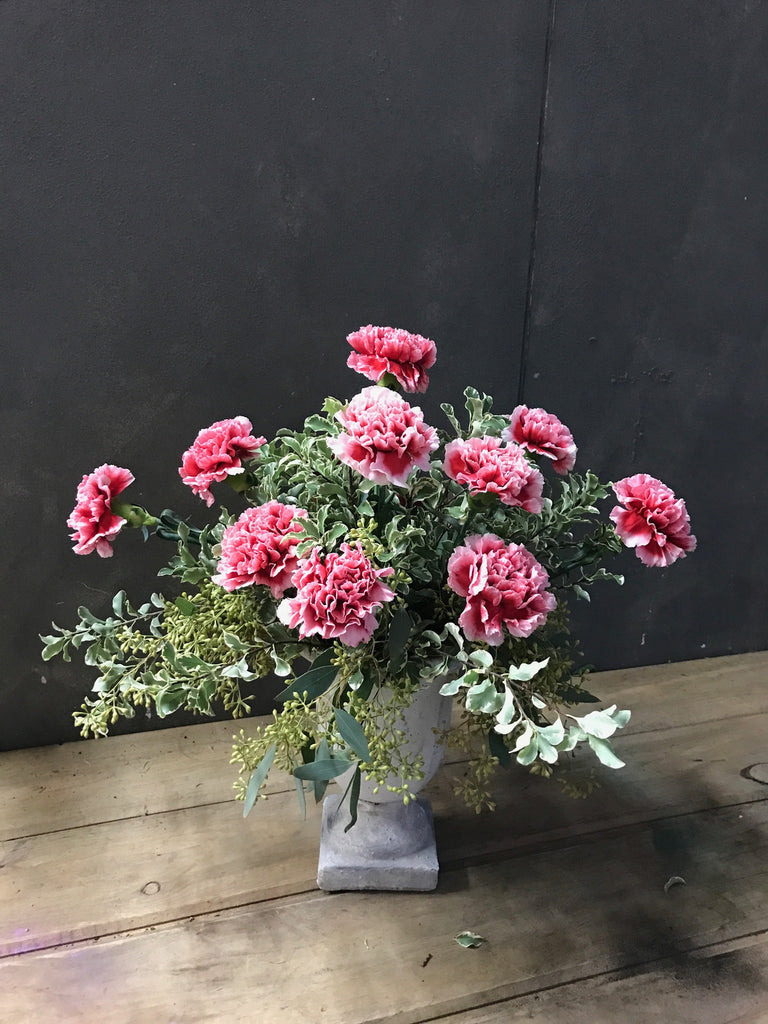 Vintage Charm Carnations