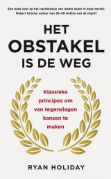 Het obstakel is de weg - Ryan Holiday - Boekenmarkt de Markies