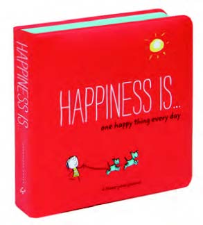 HAPPINESS IS . . . ONE HAPPY THING Every Day - A Three-Year Journal - Boekenmarkt de Markies