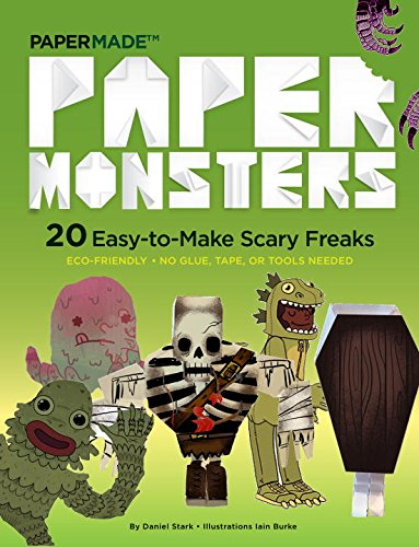 PAPER MONSTERS 20 Easy to Make Scary Freaks - Boekenmarkt de Markies