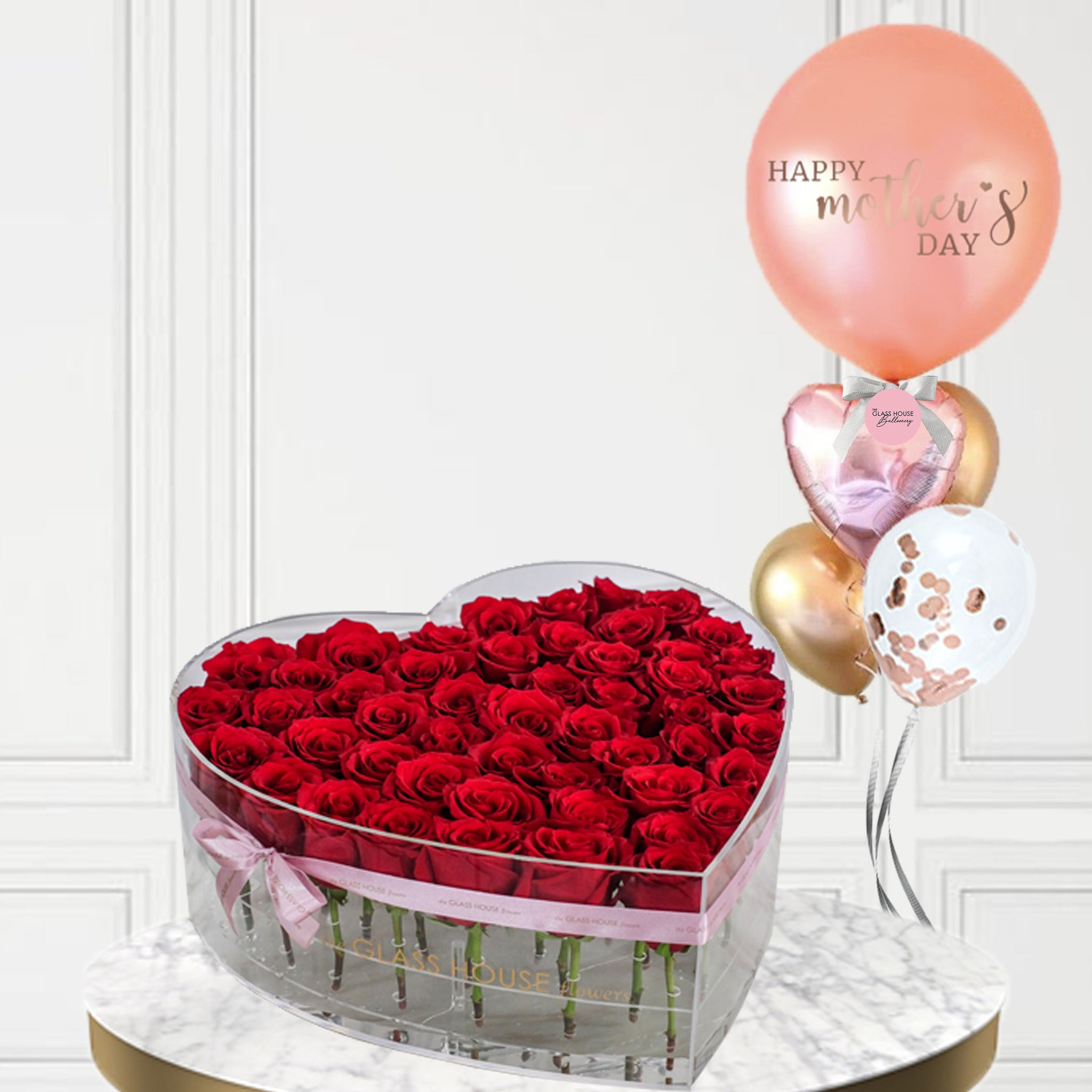 Grand Sweetheart + Mother's Day Balloon Bouquet
