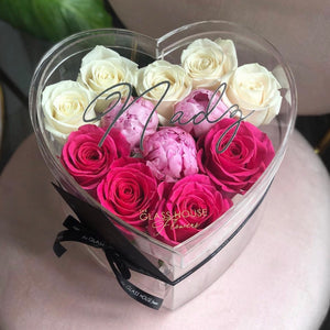 Roses and Peonies (Sweetheart)